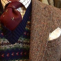 #men #fashion #tweed