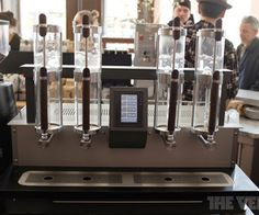 Engineering coffee: experiencing the Alpha Dominche Steampunk