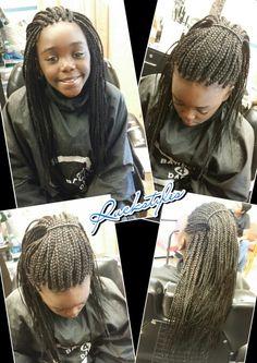 Kids individual braids