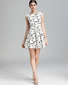 FRENCH CONNECTION Dress - Hatched Horses | Bloomingdale's
