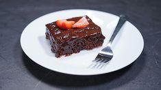 Šťavnatý čokoládový koláč - video   Varecha.sk