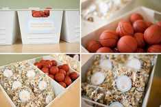Basketball Theme Party | Basketball Themed Birthday Party - On to Baby