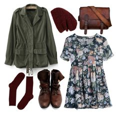 """""""Burgundy knits"""" by hanaglatison ❤ liked on Polyvore"""