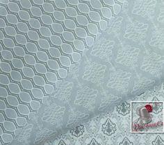 3 motifs, Lavishmint, gris, blanc, Camelot Fabrics, bundle, 1 de chaque motif