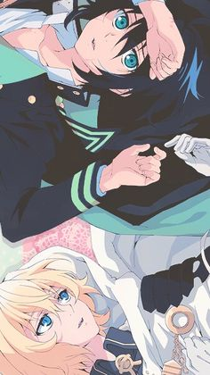 Yu and Mika - Owari no Seraph - Seraph of the End