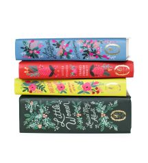 Rifle Paper Co. - In Bloom Book Collection - Set Of 4 Books Published By Puffin In Bloom With Matching Bookmarks