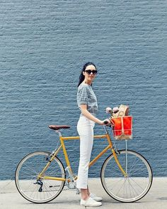 Cycling Has Never Looked This Chic! Meet Tokyobike's Juliana Rudell Di Simone