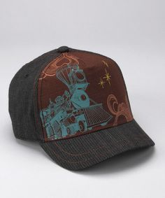 Take a look at this Goorin Bros. Brown Engineer Baseball Cap by Mister Hipster: Apparel & Accessories on #zulily today!