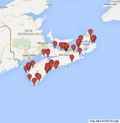 Beaches in Nova Scotia that are known for beach glass. Sea glass can be found all over the world, but the beaches of the Nova Scotia are famous for their bounty of sea glass, bottles, bottle lips and stoppers, art glass, marbles, and pottery shards. The b