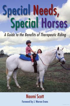 Special Needs, Special Horses: A Guide to the Benefits of Therapeutic Riding Repinned by Apraxia Kids Learning. Come join us on Facebook at Apraxia Kids Learning Activities and Support- Parent Led Group.