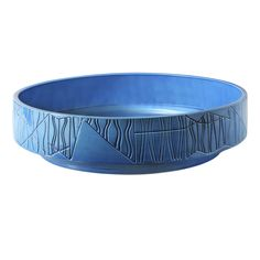 Bitossi Ceramiche Blue Bowl By Bethan Laura Wood