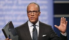 Lester Holt has received a barrage of criticism on social media for his performance as debate moderator on Monday night