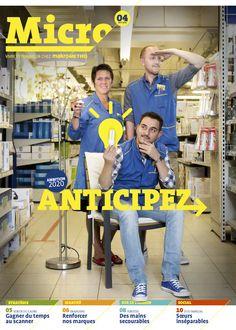 Macro, le magazine Micro de Makro pour le personnel. Adaptation du NL au FR.