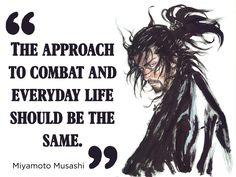 Miyamoto Musashi on everyday life