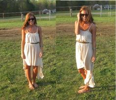 love summer dresses and of course my ray bans