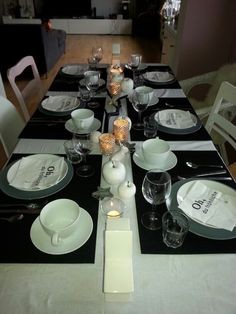 Adventsbrunch - schwarz, weiß, Bauernsilber