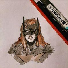 #batgirl #batwoman #philbourassa inspired #fanart from new #batman movie #badblood #batmanbadblood #art #drawing