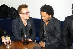 Bono from U2 with Lenny Kravitz in New York City, November 25, 2013 #u2NewsActualite #u2NewsActualitePinterest #u2 #bono #PaulHewson #picture #2013 #new #news #actualite  http://popbonobuzzbaby.tumblr.com/