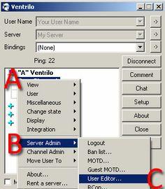 Open channel user editor window http://www.instantventrilo.com/support/ventrilo-server-create-channel-admin.php