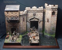 Warhammer Terrain, Game Terrain, Log Homes, Decoration, Dungeons And Dragons, Hogwarts, Cool Photos, Medieval, Scenery