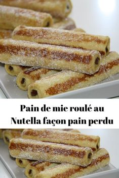 Nutella toast rolls, French toast – Page 2 – All Recipes Chocolate Cookie Recipes, Chocolate Desserts, Cheesecake Recipes, Dessert Recipes, Cookie Recipes From Scratch, Desserts With Biscuits, Savoury Cake, Food Cakes, Sandwiches
