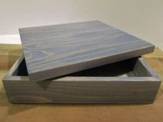 Decorative Wood Gift Box for Mom or Dad by DivineRusticCreation, $20.00