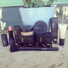 INIKA The little foxes review giveaway vegan cosmetics