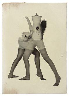 Interview with collage artist, Rebeka Elizegi on Jung Katz