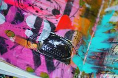 mixed media art journals bright matters! - pink soul studios
