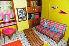 Barbie's cardboard dream house