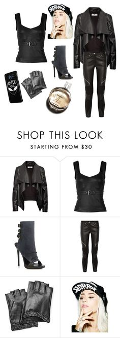 """""""Untitled #1917"""" by doinacrazy ❤ liked on Polyvore featuring HIDE, McQ by Alexander McQueen, Giuseppe Zanotti, Givenchy, Karl Lagerfeld, Hermès, Suicidal Tendencies, Samsung, women's clothing and women"""