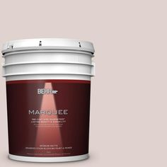 BEHR MARQUEE 5 gal. #MQ3-7 Vision of Light One-Coat Hide Matte Interior Paint