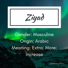 Ziyad - Extra/More/Increase - Arabic Pretty Names, Cute Names, Unique Baby Names, Boy Names, Name Writing, Writing A Book, Writing Tips, Name Inspiration, Writing Inspiration