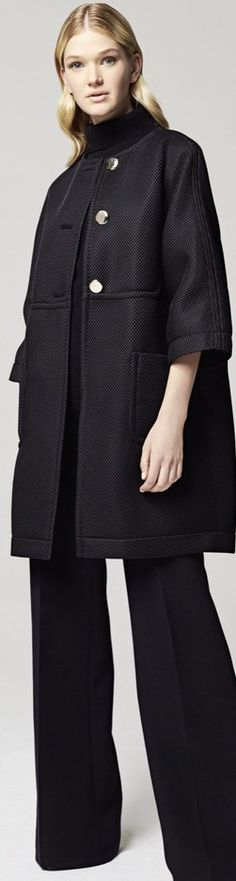 Escada 2016 Get this look NOW with the @cabiclothing Manor Coat, with detachable faux fur collar.