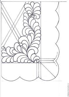 К этому мастер-классу вам понадобится: - водорастворимый маркер; - ткань молочного оттенка, сатин или хлопок 2 отреза 40*50 и для косой бейки; - швейная машина; - нитки; - наполнитель 100ка. 1. Переносим рисунок на ткань водорастворимым маркером, на другую сторону эскиз прикрепляем зеркально, переводим на просвет. 2. На самой салфетке нужно выделить вертикаль и горизонталь, как направляющие, можно маркером можно заутюжить.