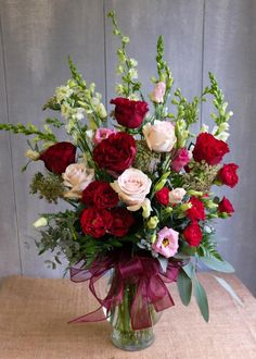Each Valentine's Day we fill our flower shop to the brim with long-stem roses, stargazer lilies, elegant orchids, and 'Hearts' roses. All flower arrangements are available for local Lexington, KY delivery.