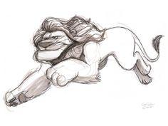 The Ol' Sketchbook: Animal sketch dump