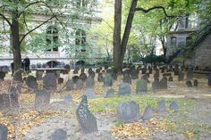 This Boston graveyard looks like the one my grandpa grew up next to
