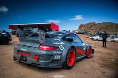 custom ready for mountain climbing Hill Climb Racing, Porsche Motorsport, Pikes Peak, Modified Cars, Rally Car, Car Manufacturers, Art Cars, Porsche 911, Cars And Motorcycles
