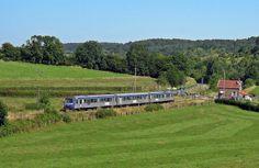 Train à la Mer - Rouen > Le Tréport - X 4900 - régions Haute Normandie - Picardie