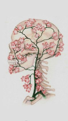 Escuela Cherry Blossom Drawing, Cherry Drawing, Blossom Flower, Flower Tree, Drawing Flowers, Flower Drawings, Art Drawings, Art Flowers, Floral Flowers