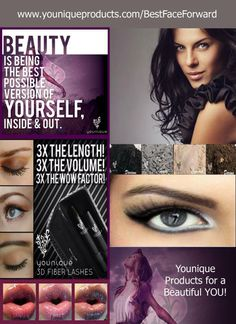 Best Face Forward at Younique Products  https://www.youniqueproducts.com/BestFaceForward/party/58782/view Make a purchase of any amount and get 3 free samples of your choice and a case for each!! Visit today to check out all of our amazing products! Have you heard about our 3D Lashes??