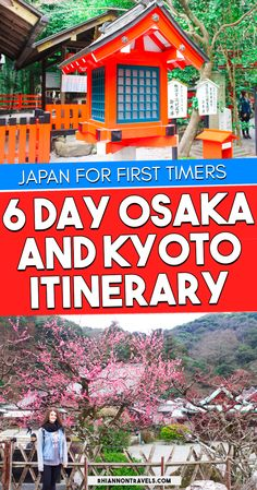 6 Day Osaka Itinerary for First Time Visitors | Rhiannon Travels
