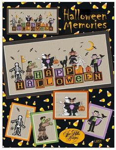 Halloween Memories by Sue Hillis Designs - Cross Stitch Kits & Patterns