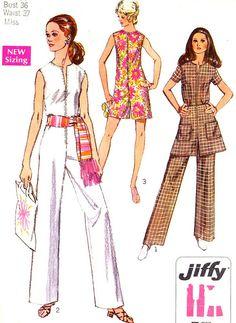 Simplicity 8745 jumpsuit (Jiffy pattern)