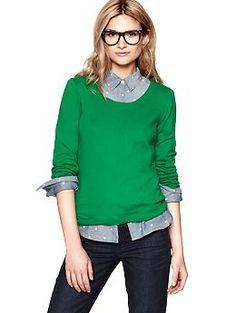 Crewneck sweater   Gap