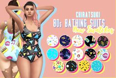 """chiratsukiblr: """" made this very cool pattern palette and I thought these would be p Sims Four, Sims 4 Mm Cc, My Sims, Maxis, Sims 4 Dresses, Sims 4 Gameplay, Sims 4 Cas, Sims 4 Clothing, Sims 4 Cc Finds"""