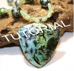 INSTANT DOWNLOAD, Polymer clay tutorial - Create a Faux Raku Look using POLYMER Clay