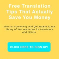 Join our community and get access to our library of free resources and translation tips that actually save you money. https://adarvetranslations.com/free-translation-resources/