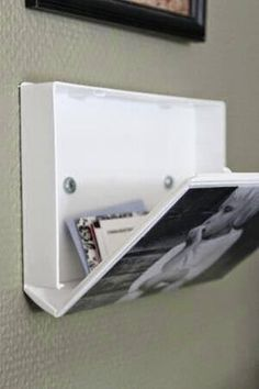 Space saving RV Picture Frame that doubles as a hidden storage compartment
